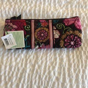 NWT Vera Bradley brush/pencil bag